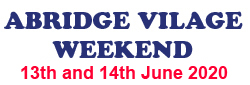 Abridge Village Weekend